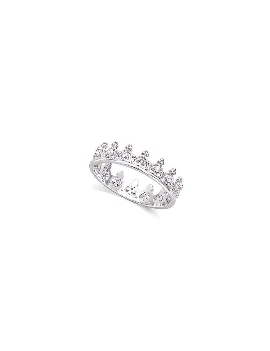 Anillo plata corona de circonitas 11HW1330CZ