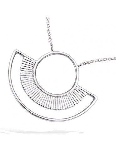 Collar plata geométrico 51HW0220