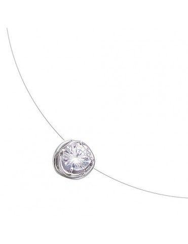 Comprar Collar plata hilo 51HW1040CZF online