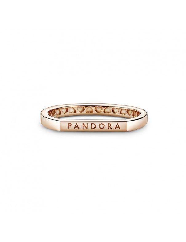 Anillo Pandora Rose Barra Logo Pandora 189048C00-54
