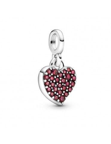 Charm Pandora colgante en plata de ley Mi Corazón 798981C01