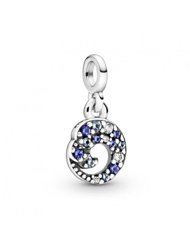 Charm Pandora colgante en plata de ley Mi Ola de Mar 799010C01