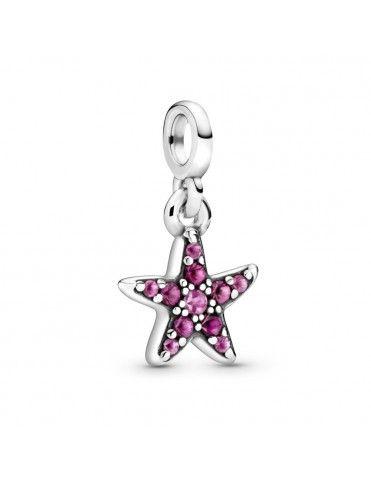 Charm Pandora colgante en plata de ley Mi Estrella de Mar 799011C01