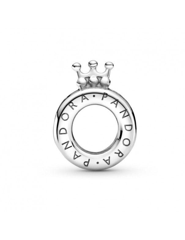 Charm Pandora en plata de ley  Logo y Corona de Pandora 799036C00