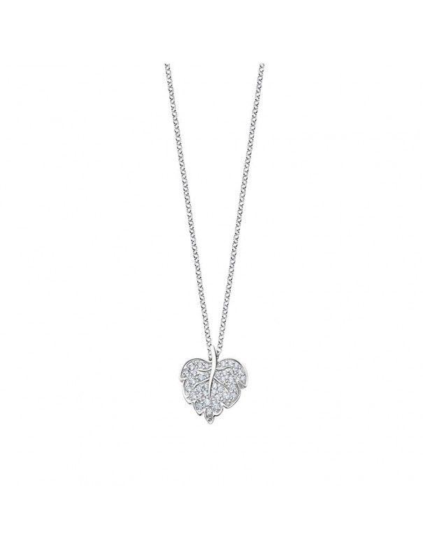 Collar Lotus Silver hoja LP3017-1/1