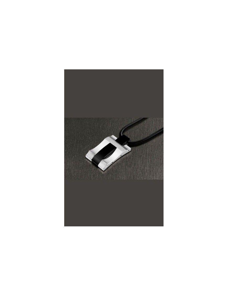 COLLAR LOTUS STYLE ACERO HOMBRE LS1101-1/2