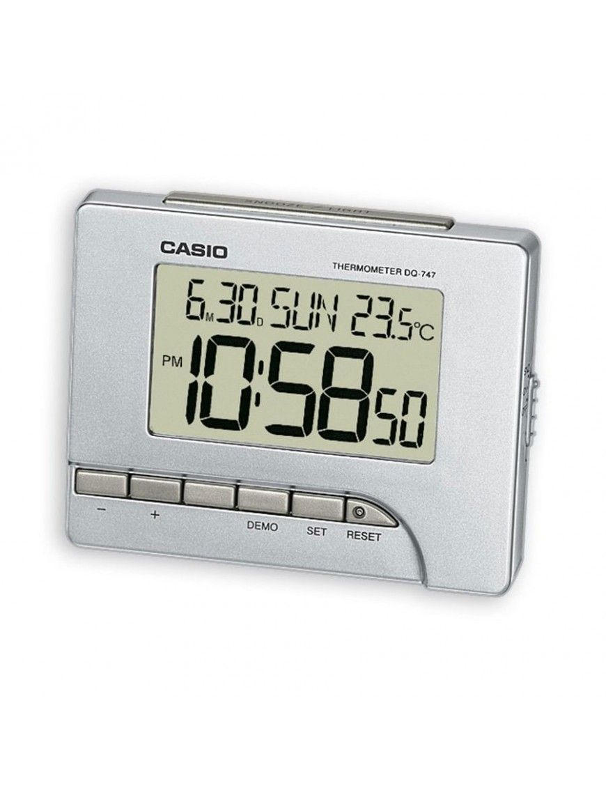 Despertador Casio digital DQ-747-8EF