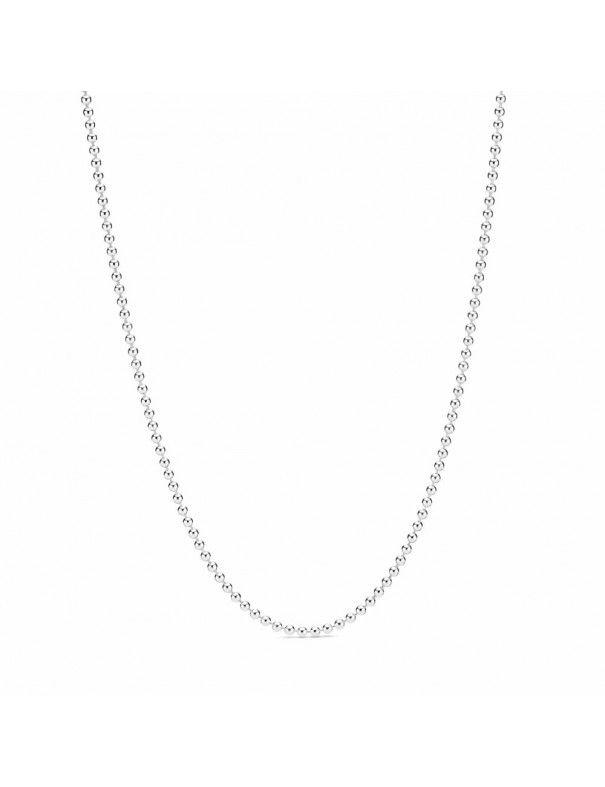 Collar Pandora en plata de ley Esfera Pulida 399104C00-60