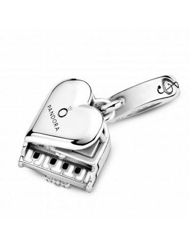 Charm Pandora colgante en plata de ley Piano 799101C01