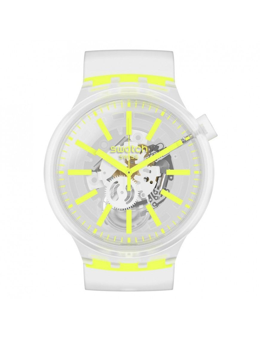 Reloj Swatch Yellow In Jelly unisex SO27E103