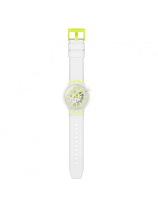 Reloj Swatch Yellow In Jelly unisex SO27E103