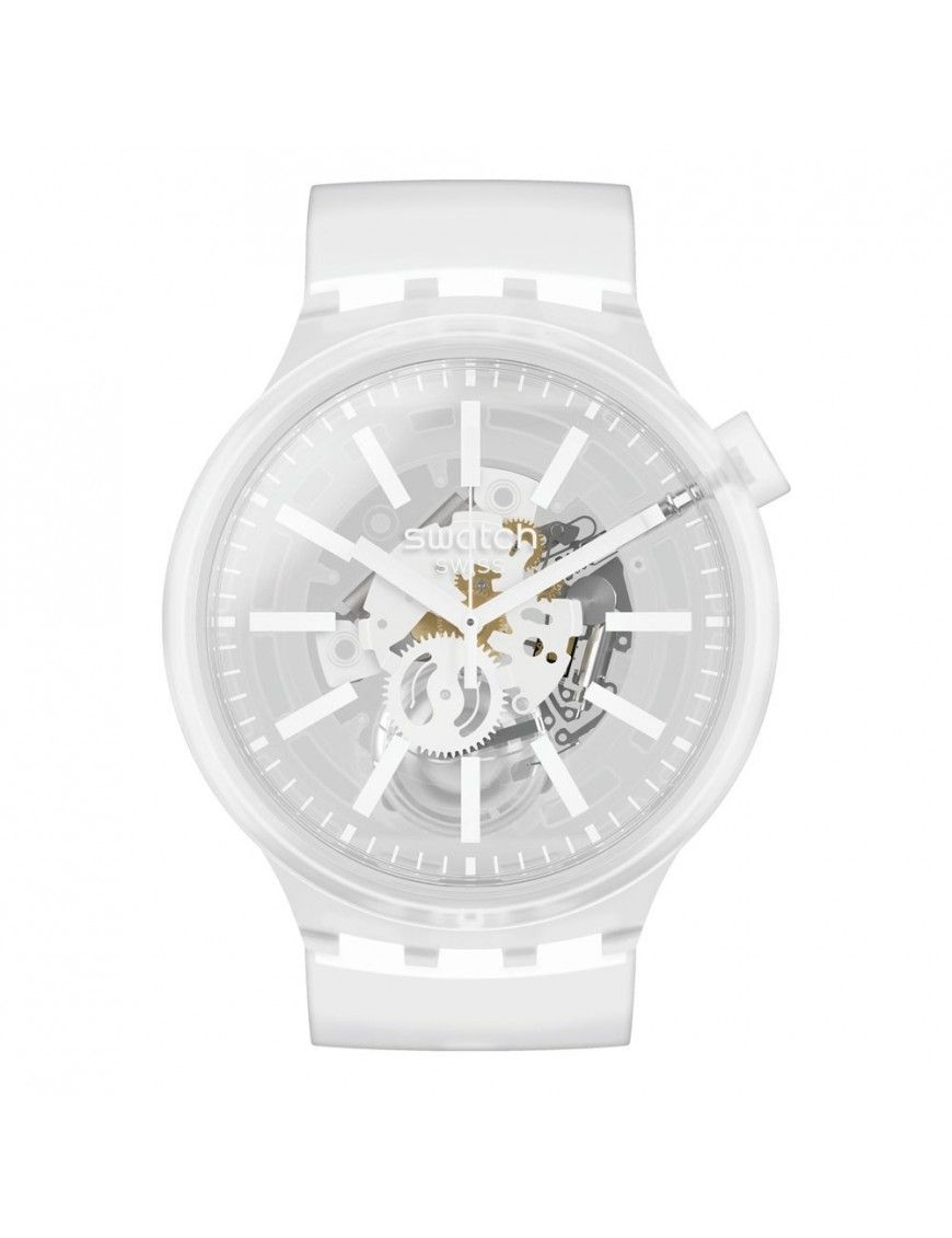 Reloj Swatch White In Jelly unisex SO27E106