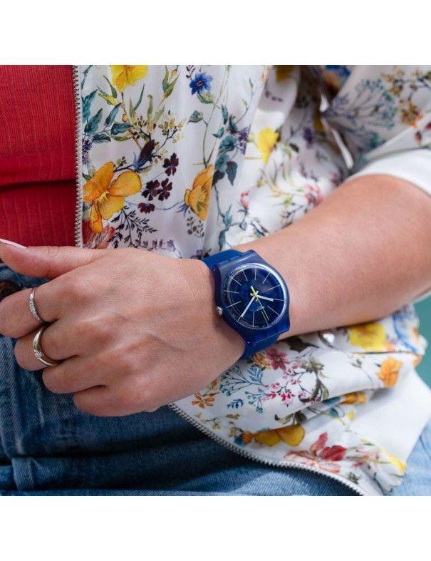 Reloj Swatch Blue Sirup unisex SUON142