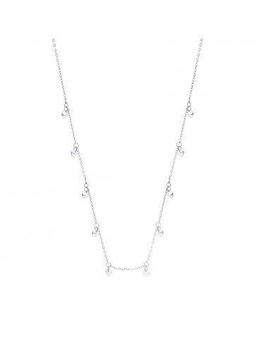 Collar Lotus Silver con circonitas LP3002-1/1