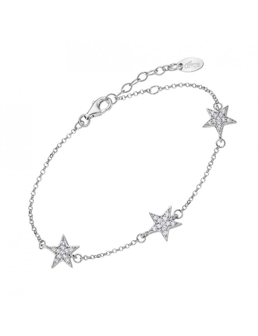 Pulsera Lotus Silver con estrellas LP3030-2/1