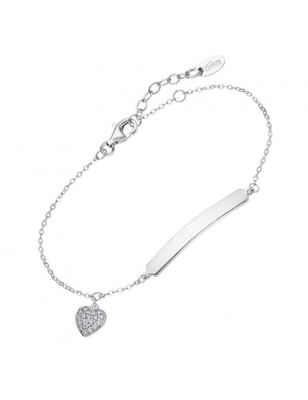Pulsera Lotus Silver identidad corazón LP3033-2/1