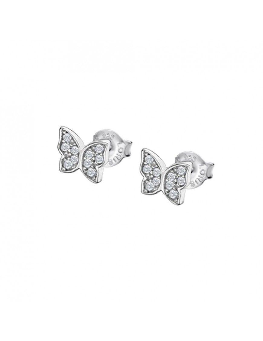Pendientes Lotus Silver con mariposas LP3051-4/1