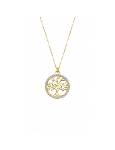 Collar Lotus Silver Mujer LP1746-2/4