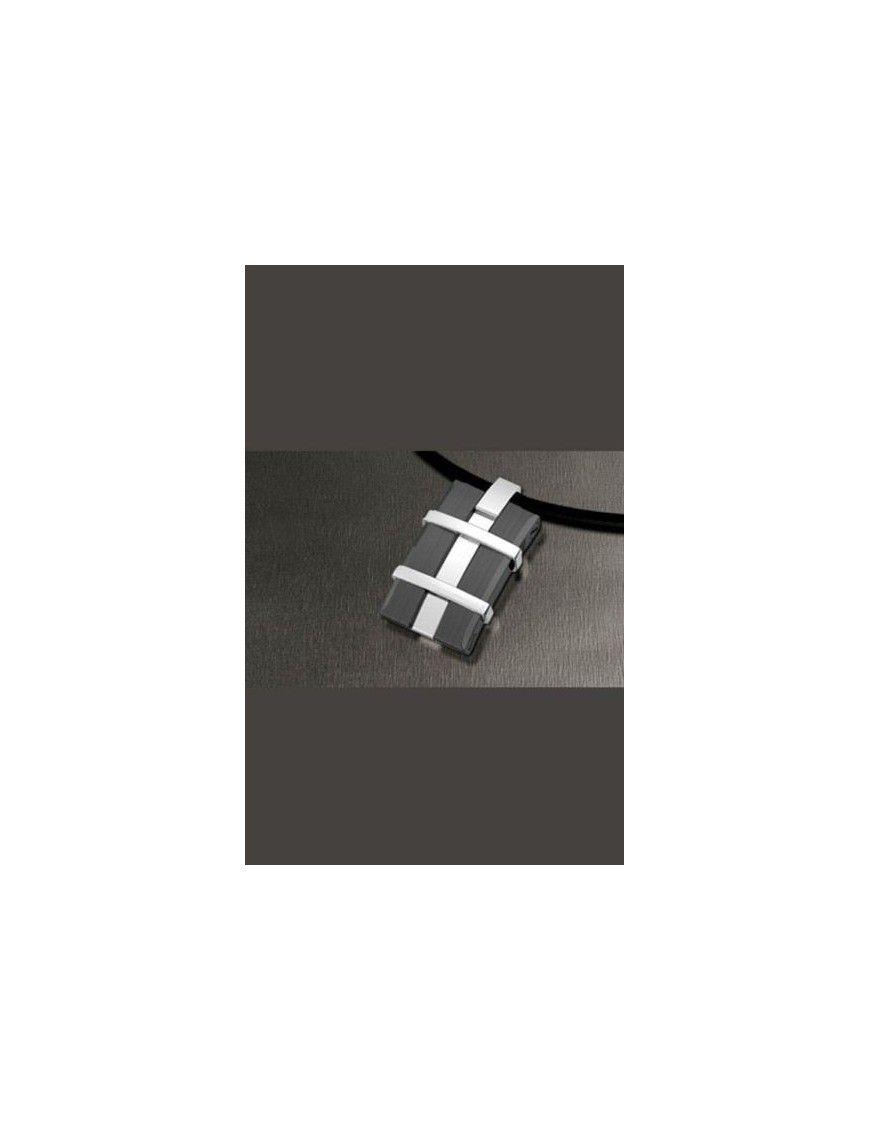 COLLAR LOTUS STYLE ACERO HOMBRE  LS1170-1/2