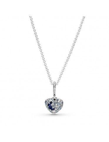Collar Pandora Luna Azul...