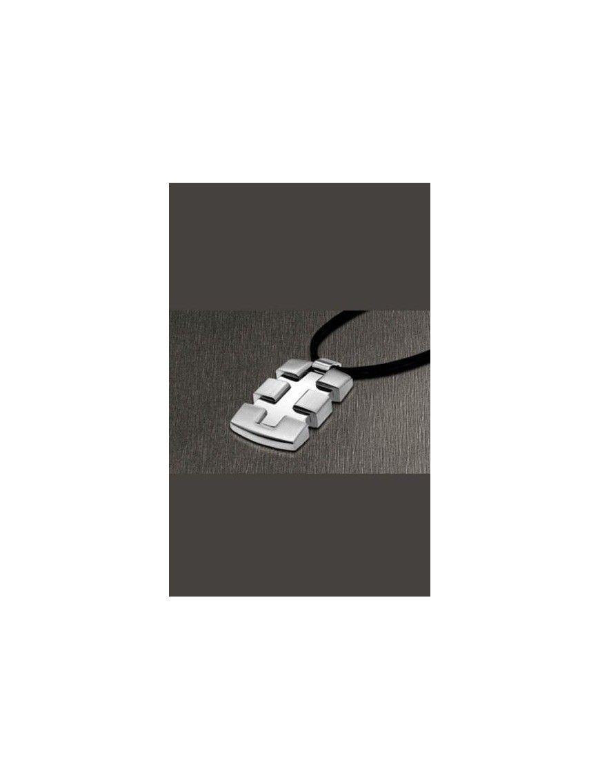 COLLAR LOTUS STYLE ACERO HOMBRE LS1138-1/1