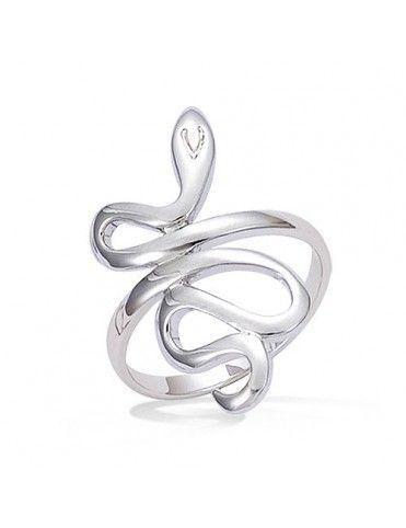 Anillo de plata serpiente...