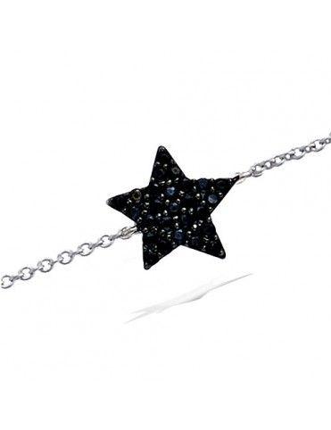 Pulsera De Plata Estrella...
