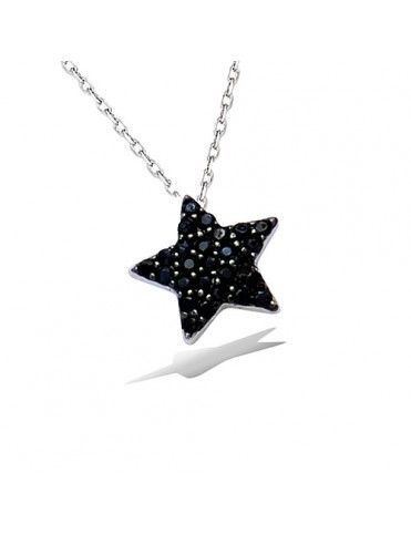 Collar De Plata Estrella...