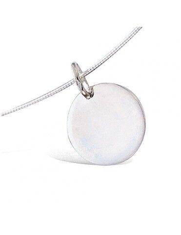 Collar De Plata Chapa 15mm...