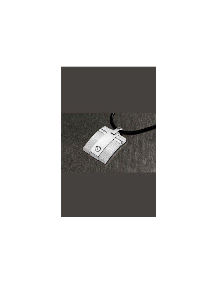 COLLAR LOTUS STYLE ACERO HOMBRE LS1104-1/1