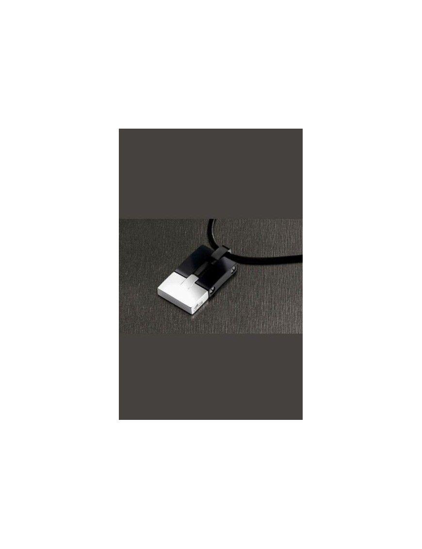 COLLAR LOTUS STYLE ACERO HOMBRE LS1102-1/2