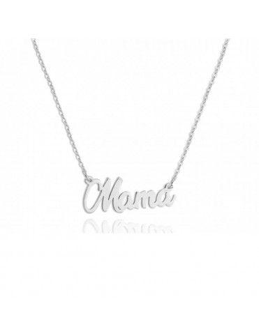 Collar De Plata Mamá 175402