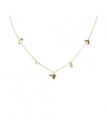 Collar PDPAOLA Jasmine Gold...