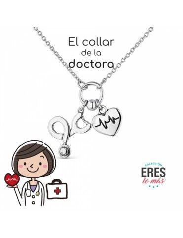 Collar De Plata Doctora...