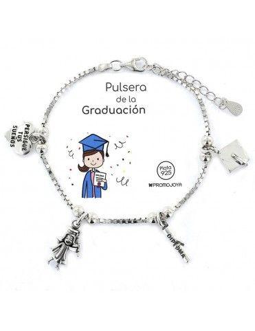 Pulsera De Plata Graduación...