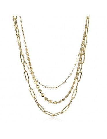 Collar Anartxy Acero Chains...