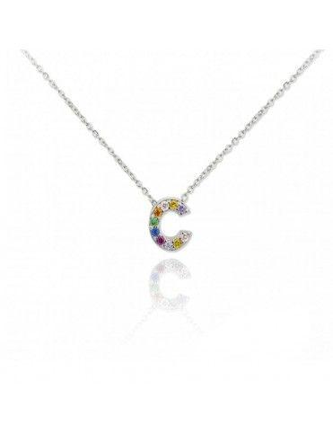 Collar Plata Letra C 175024