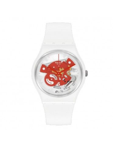 Reloj Swatch Time To Red...