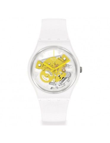Reloj Swatch Time To Yellow...