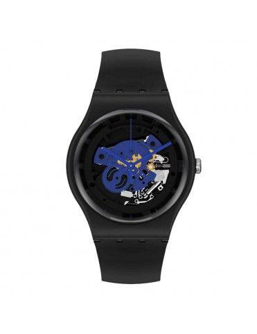 Reloj Swatch Time To Blue...