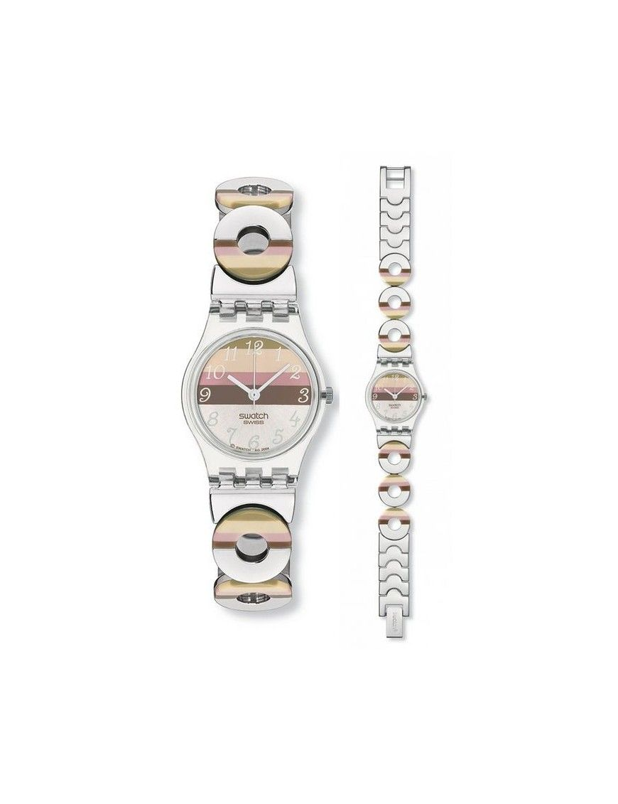 Reloj Swatch Metallic Dune mujer LK258G