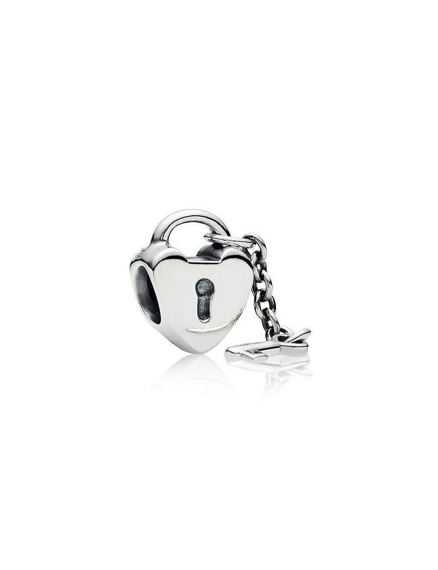 Charm Pandora Plata Llave de mi corazón 790971