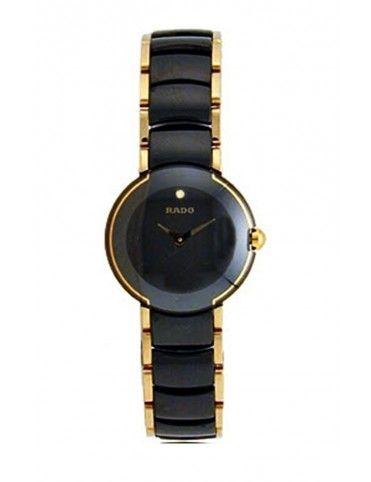 Comprar Reloj Rado Coupole Cer/Chap negro mujer R22352152 online