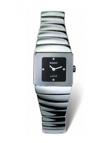 Comprar Reloj Rado Sintra Gris Esf. Neg. Diam. mujer R13334732 online