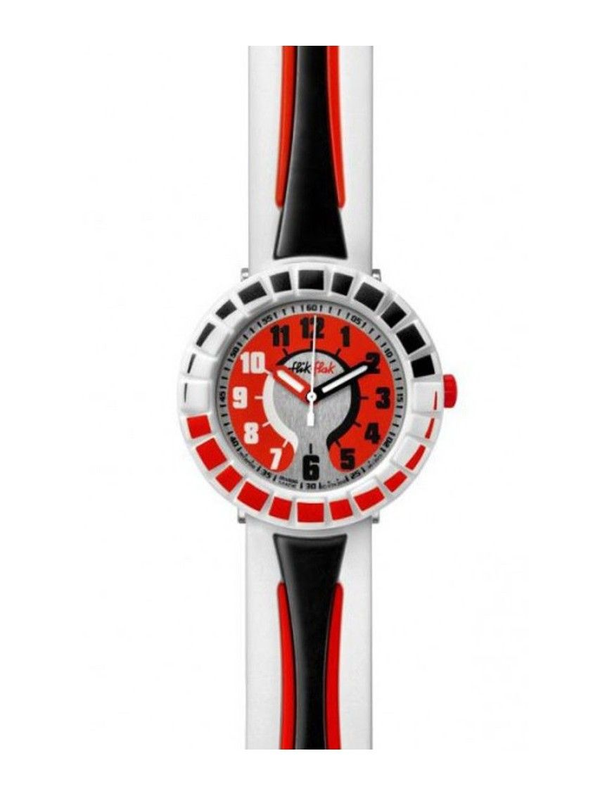 RELOJ FLIK FLAK ALL AROUND BLACK&RED FCSP006