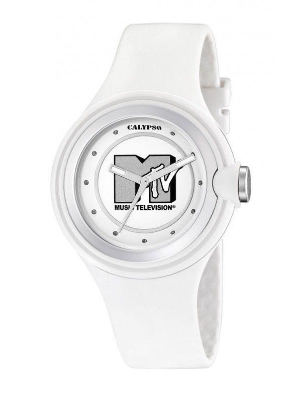 RELOJ CALYPSO MTV BLANCO MUJER KTV5599/1