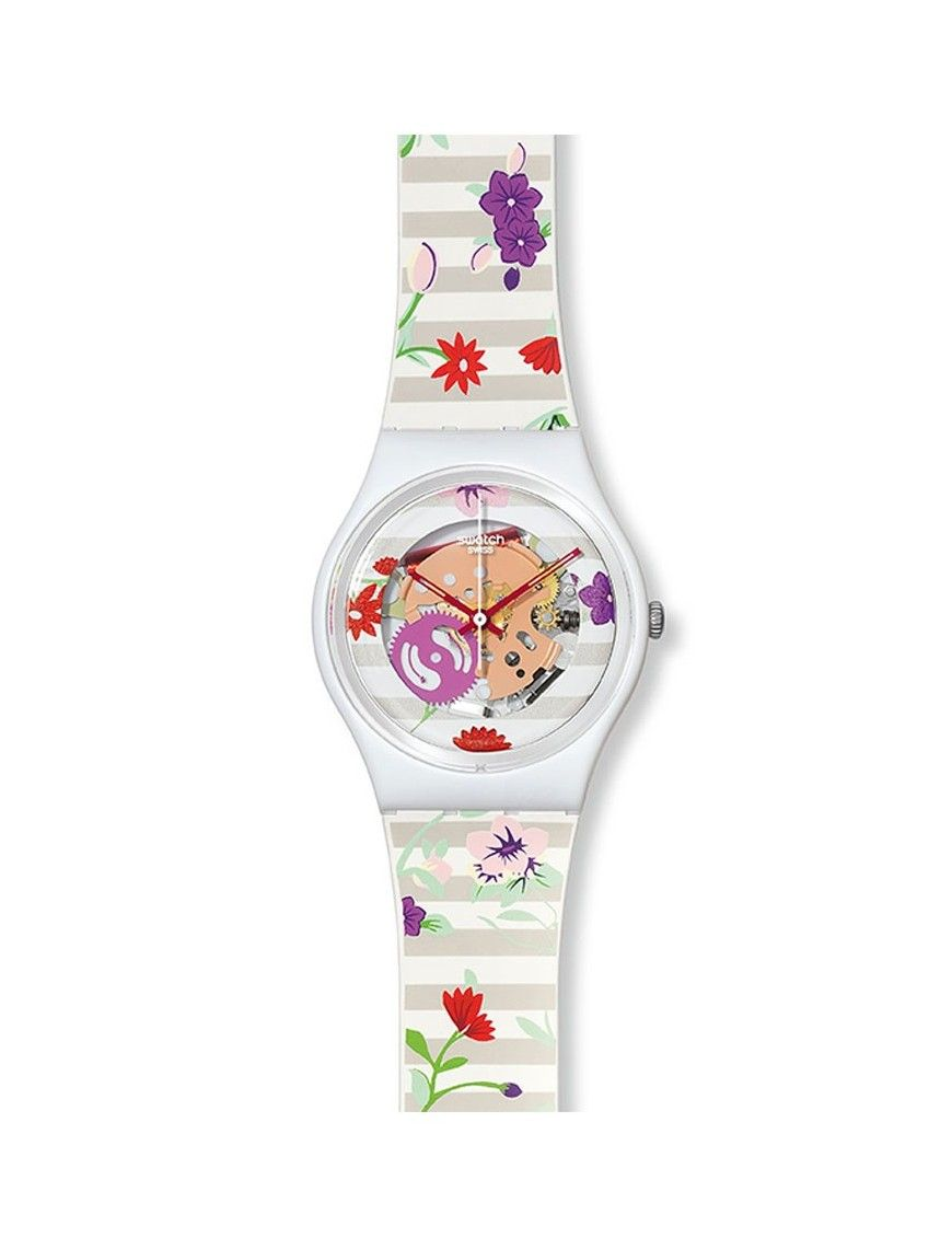 RELOJ SWATCH BLOSSOMING LOVE MUJER GZ290