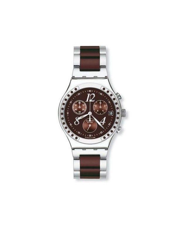 Reloj Swatch Dreambrown crono mujer YCS526G