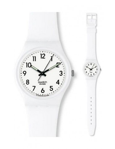 Reloj Swatch Just White mujer GW151