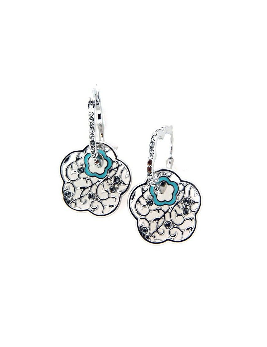 PENDIENTES METAL MUJER MS06075E-R-A